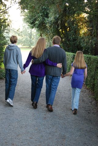Fedor Family Walking