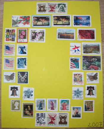 2007stampcollage