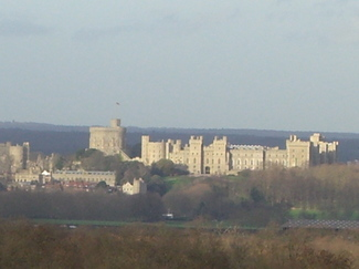 Windsorcastleinsun